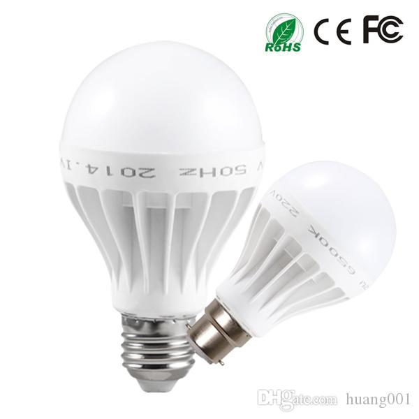 Best Energy Saving High Quality B22 E27 Bulb Led Lights 220v 240v 3w 5w 7w 9w 12w Cool Warm