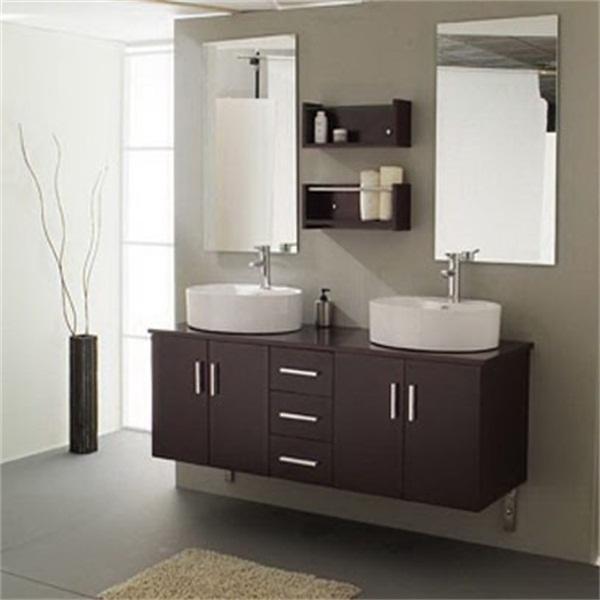 2017 32 Inch Bathroom Vanity Cabinets High Gloss Black