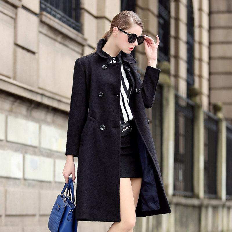 Petite Wool Coats Long