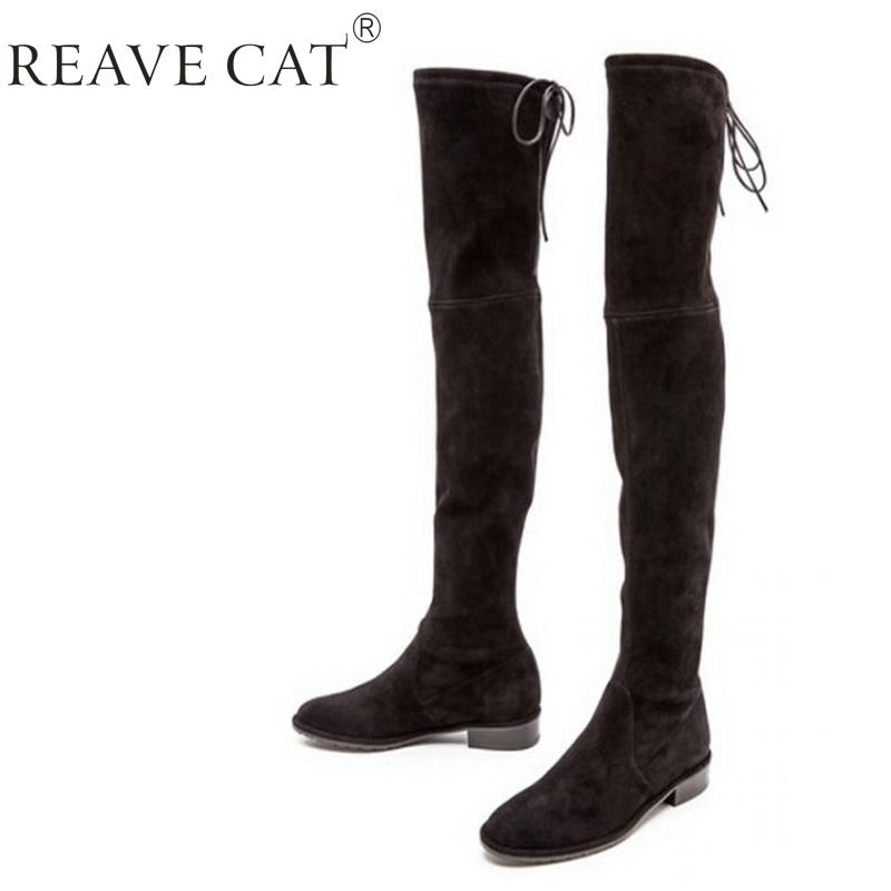 Newest Designer Highland Suede Thigh High Boots,Chunky High Heel ...