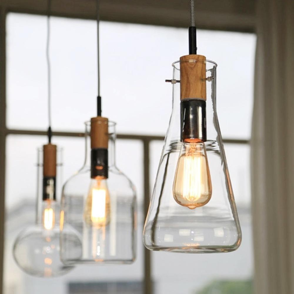 Hanging light bulbs ikea roselawnlutheran ikea brief style woodu0026glass pendant lamp e27 edison bulbs lighting drop hanging lights art decor light aloadofball Gallery