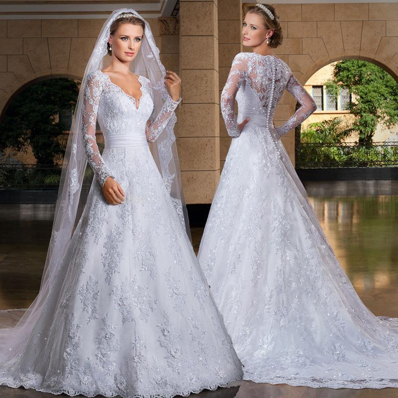 discount 2015 best selling vintage lace wedding dresses