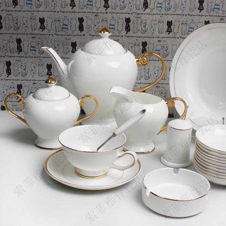 dinnerware sets bone china tableware tableware coverall hand painted