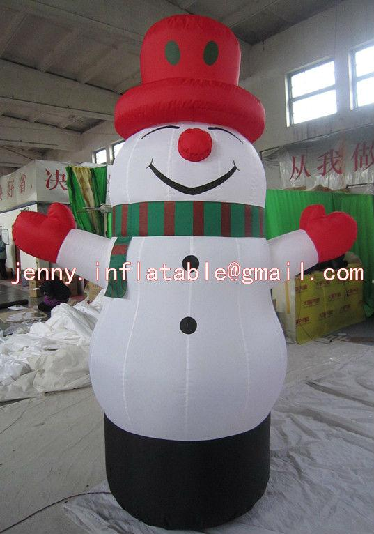 Outdoor Christmas decorations,snowman balloon,snowman ornament ...