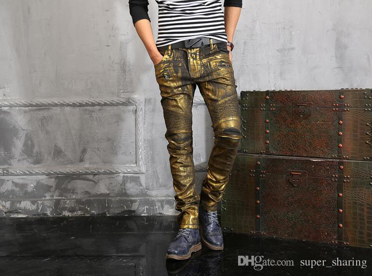 Balmain Mens Clothing from the Latest Collection. Balmain Clothing and Jeans are available online.