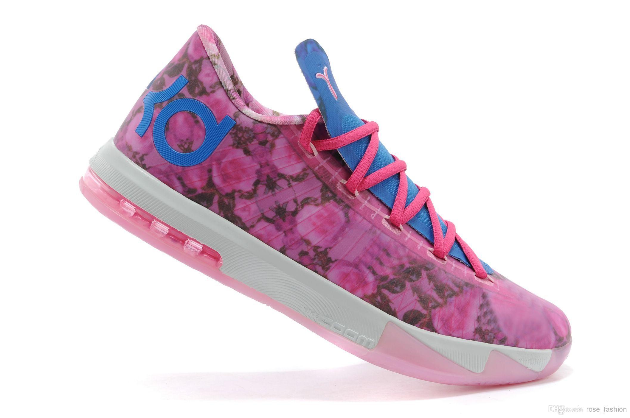 Unique Nike Kevin Durant KD 6 Shoeswomen008