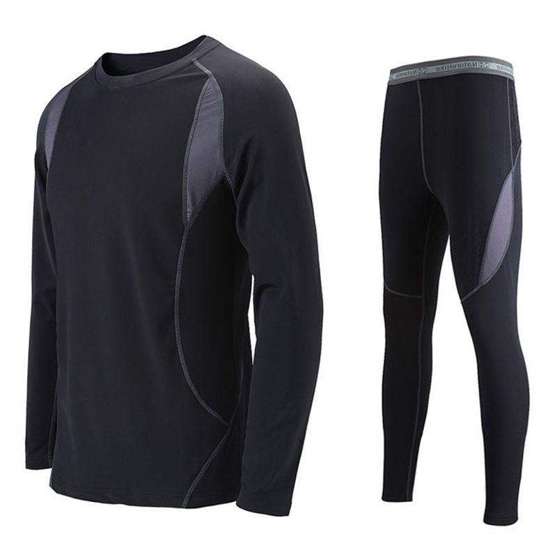 2017 High Quality Thermal Underwear Men Autumn Winter Outdoor ...