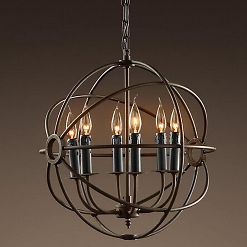 rh lighting restoration hardware vintage pendant lamp foucault 39 s iron