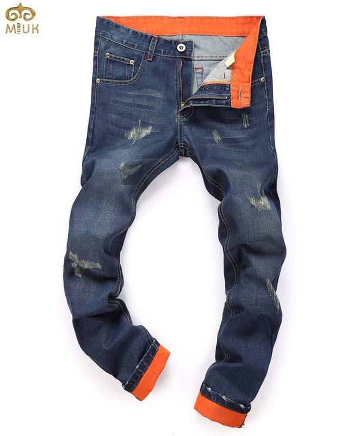 2017 Patchwork Fashion Design Men Jeans Super Large Size 40 Hole ...