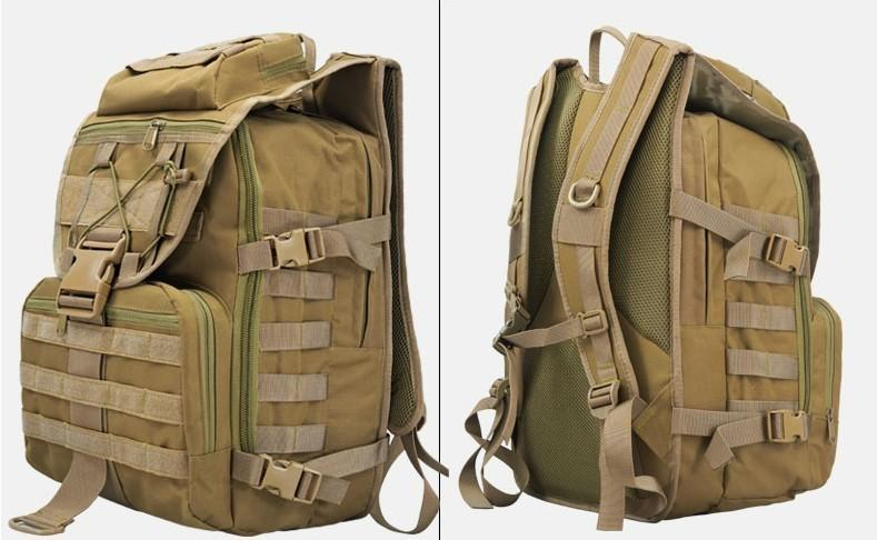 New X7 Army Tactical Laptop Backpacks Military Camouflage Outdoor ...
