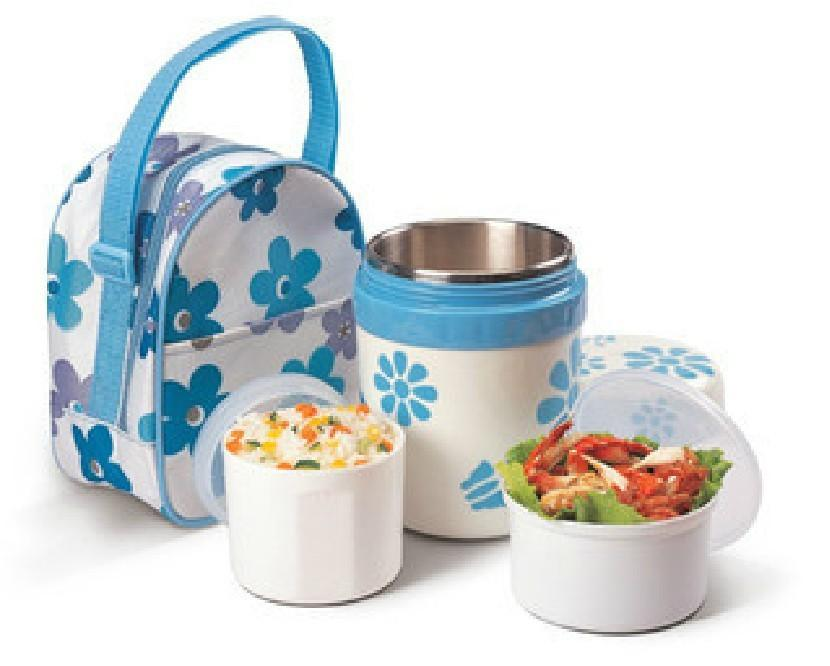 Stainless Steel Korean Thermos Lunch Box For Kids W
