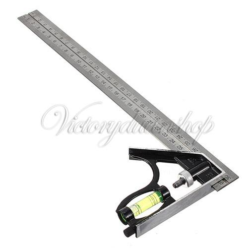 Adjustable 300mm 12 Engineers Combination Try Square Set Angle Spirit Level  Spirit Level Tool Spirit Manufacturers Spirit Single Online With  $38.27/Piece On ...