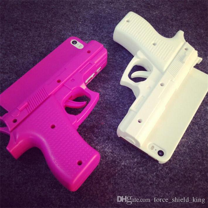 iPhone 5S 6plus 3D Gun Hard Case outil PC Gun Mobile Phone Cover étuis pour iPho