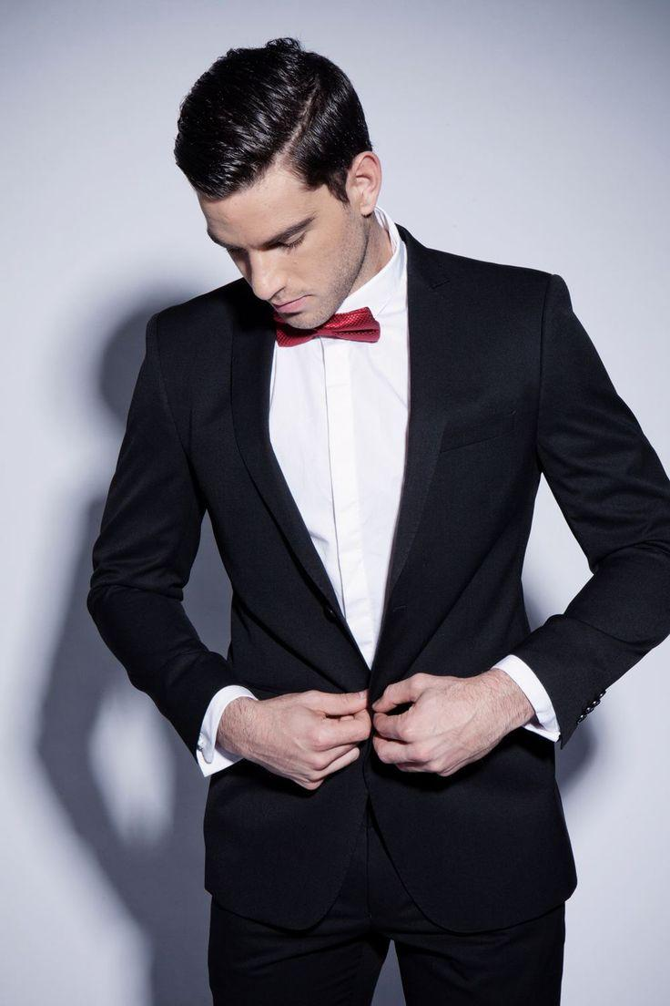 Black Wedding Suits For Men, Bespoke Black Groom Suit,Navy Blue