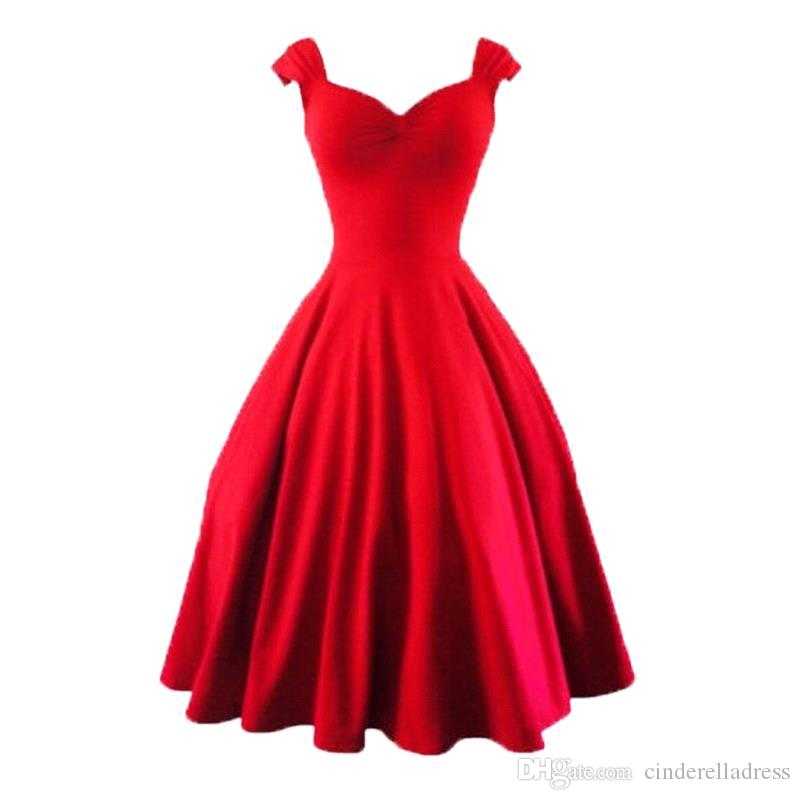 Retro Inspired Plus Size Party Dresses 74