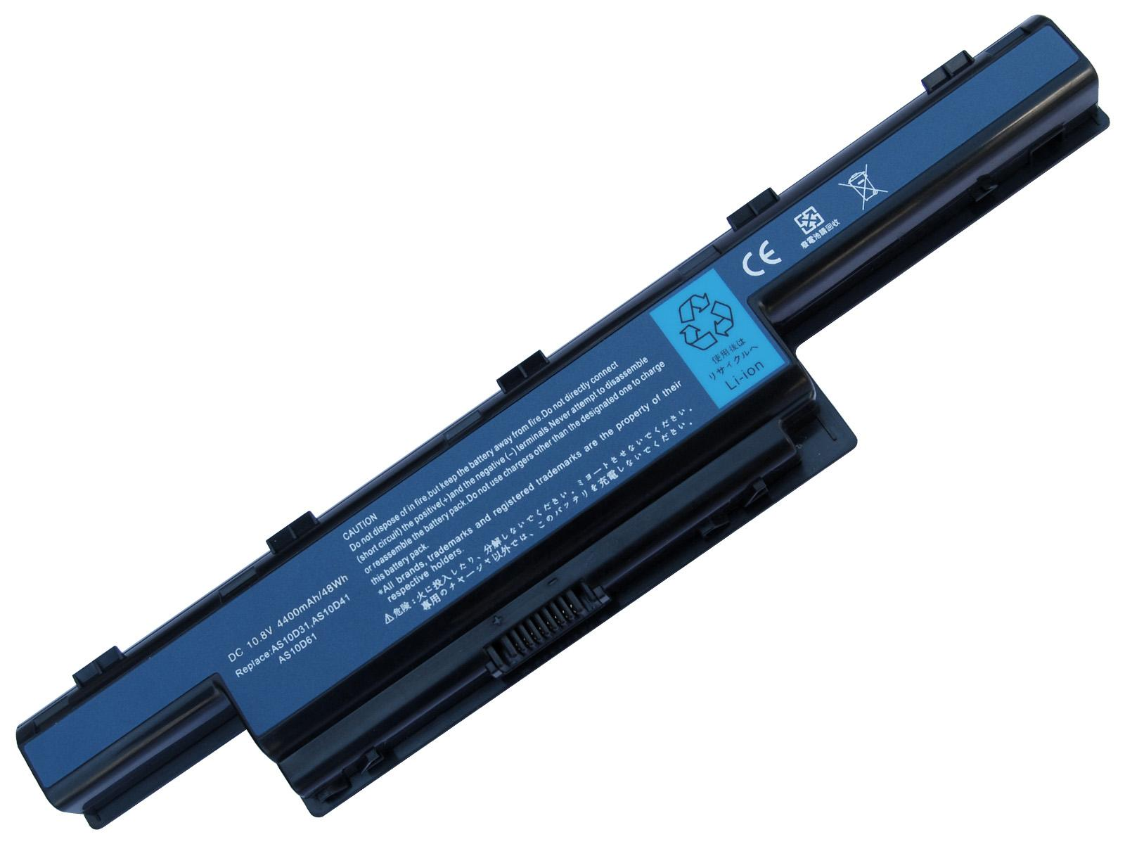 Usine AAAA + 5200mAh Batterie Batterie 6cell Batterie 31CR19 / 652 AS10D31 pour