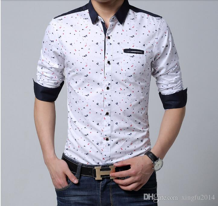 Printed White Shirts