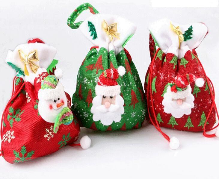 New candy bags christmas gift bag xmas for
