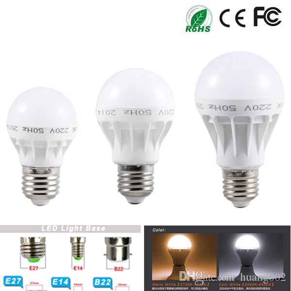 Best Energy Saving Quality Led Globe Lamp E27 B22 3w 5w 7w 9w 12w Led Lights Bulbs 220v 240v