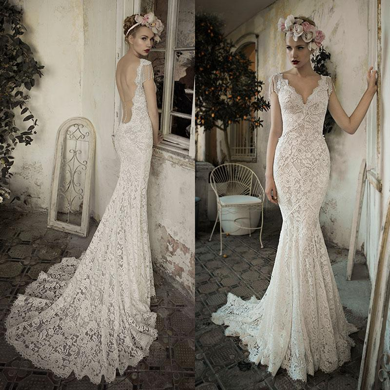 Lace and Pearl Wedding Gowns_Wedding Dresses_dressesss