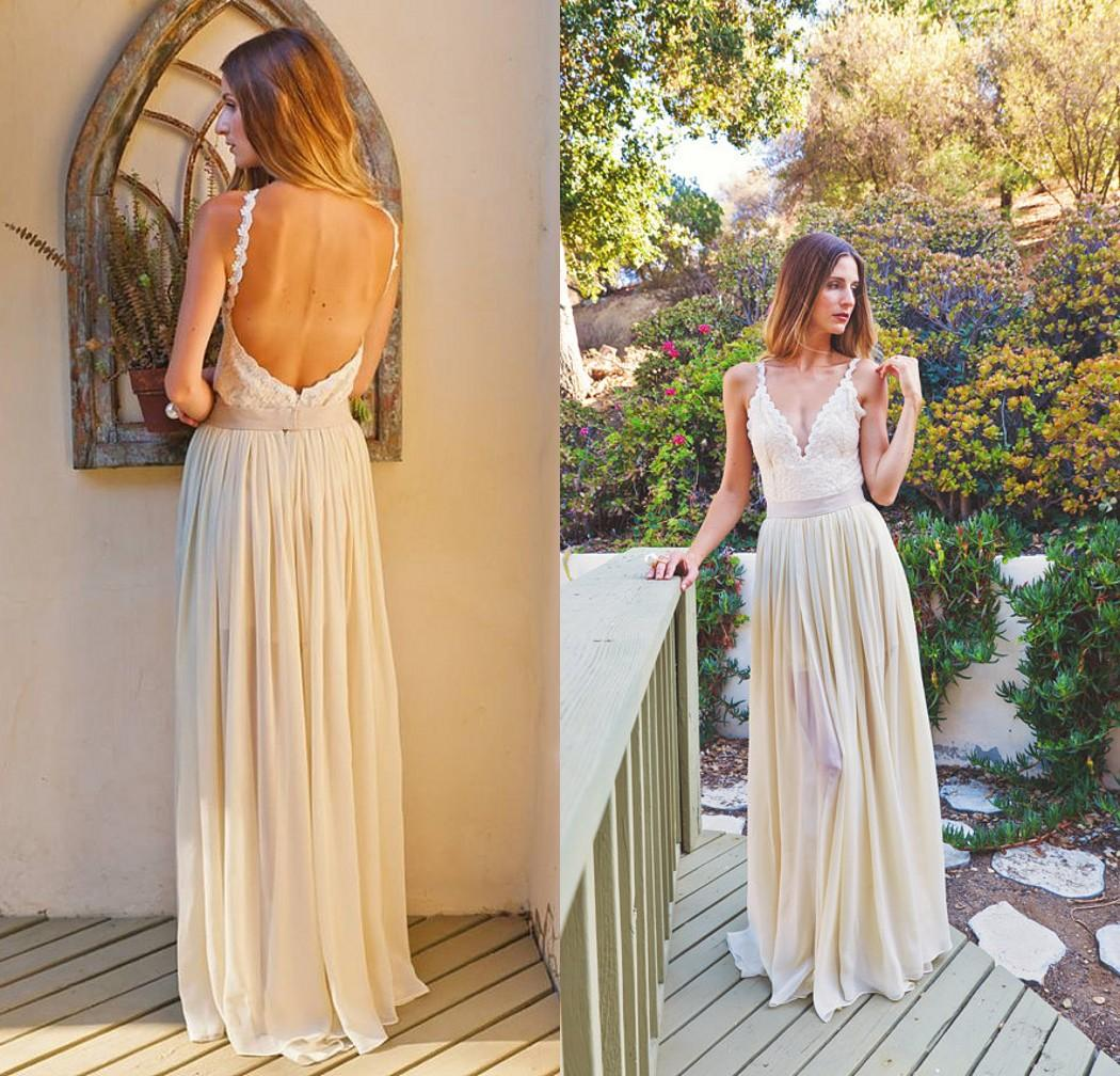 Discount Simple Informal Wedding Dress 2015 From