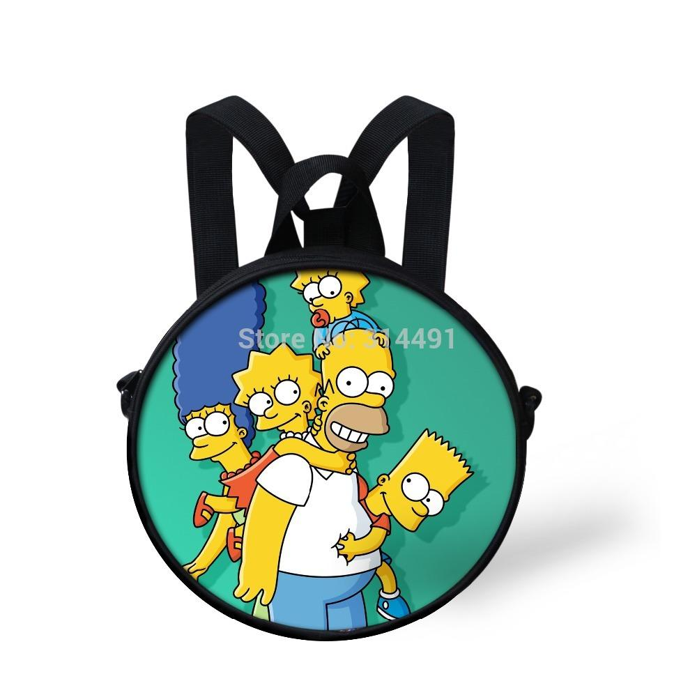 School bag for year 7 - Best New Year Gifts For Kids Cartoon Simpson Kindergarten Boys Baby School Bag Cute Kids Crossbody School Bags Children Bag Free Gift Bags Sale Gift Bag