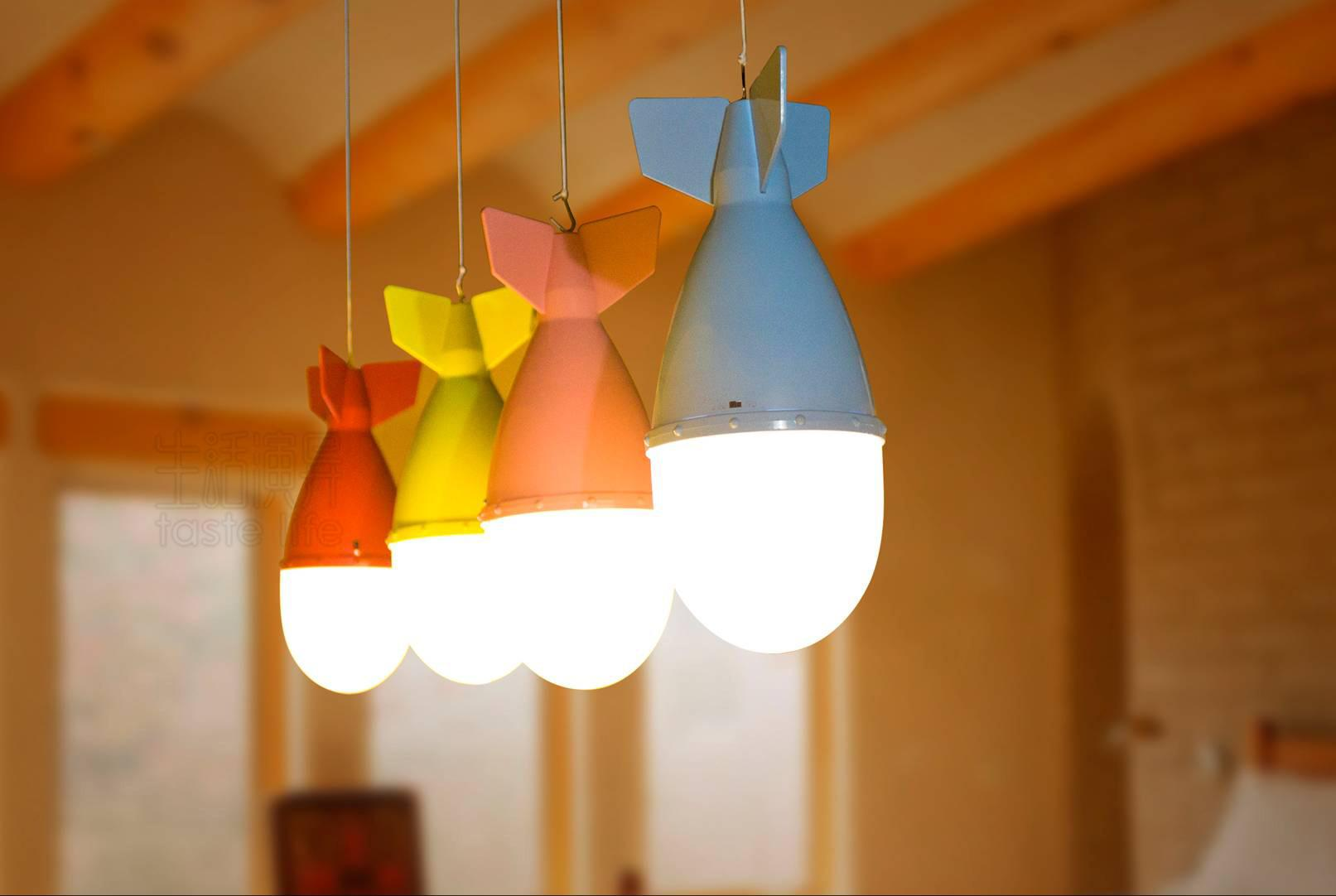 Best Creative Bomb Shaped Table Light Multi Function