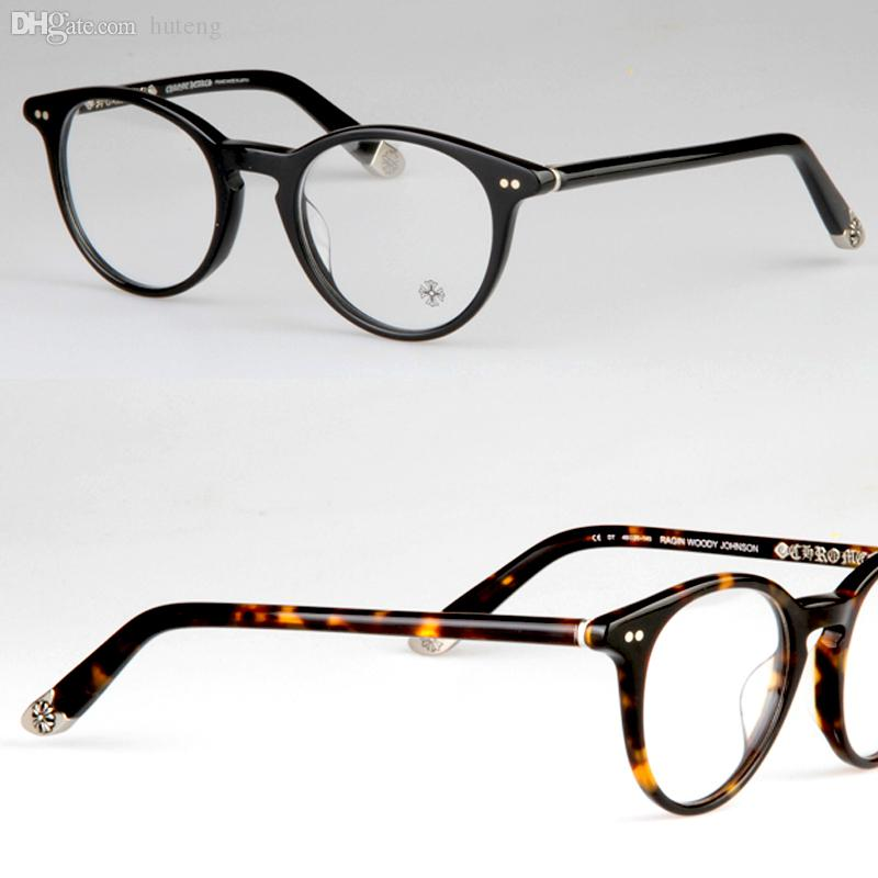 Vintage Eyeglass Frames Maine : Best Wholesale Round Frame Chromehearts Eyeglasses Ragin ...