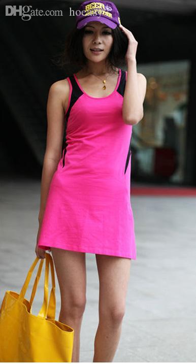 Wholesale-2015 Sexy Women Sportswear Sports Tennis Outfit Women ...