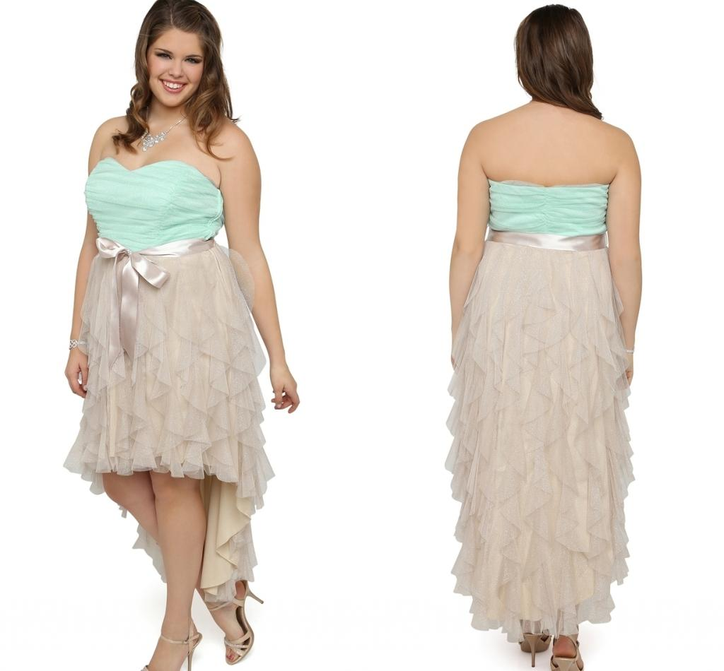 Young Plus Size Party Dresses 120