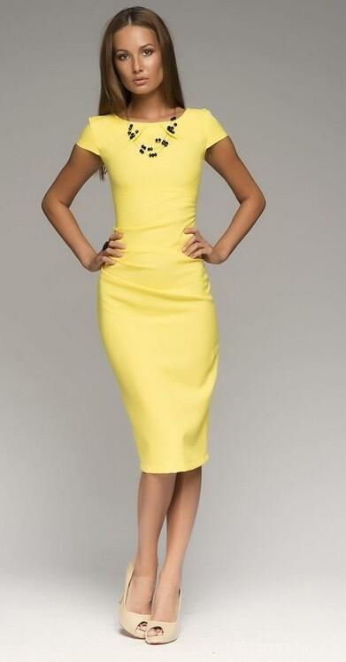 2015 Summer Women&39S Dresses Retro Dress Tight Dress Solid Color ...