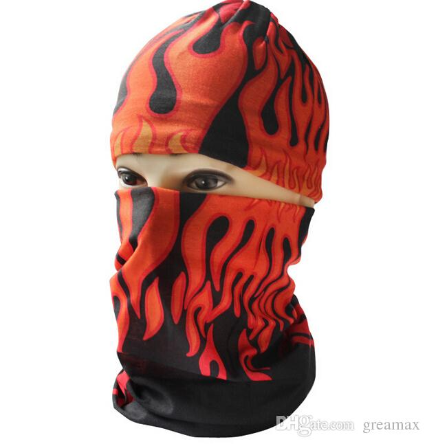 Cool Outdoor Skull Multifonctionnel Bandana Cyclisme Masque Visage sans couture