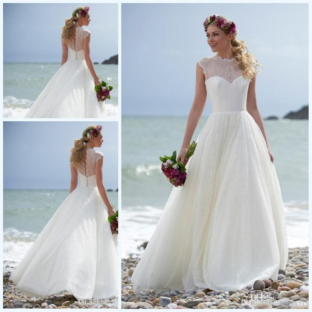 Summer Beach Wedding Dress