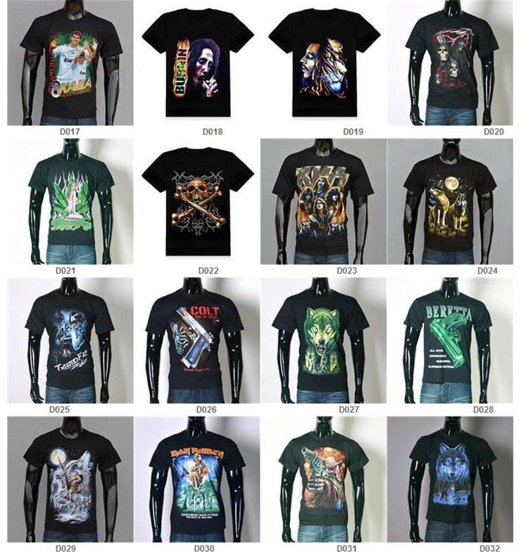 3d t shirt men polo shirts azrael skull bob lions tigers for Different types of polo shirts