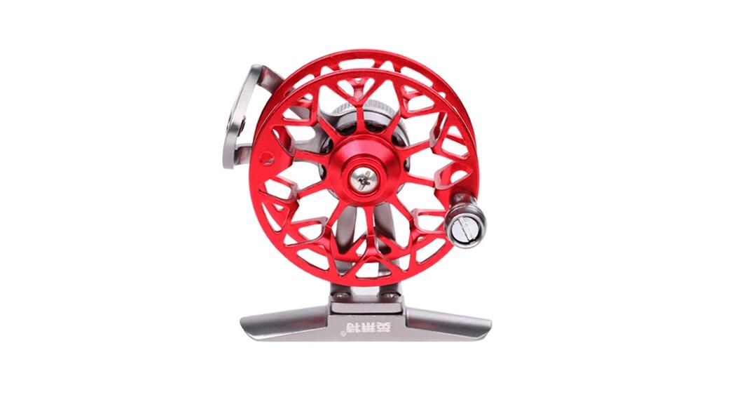 yinglaite ld50 fly fishing reel right handed gear ratio 1:1, Fly Fishing Bait
