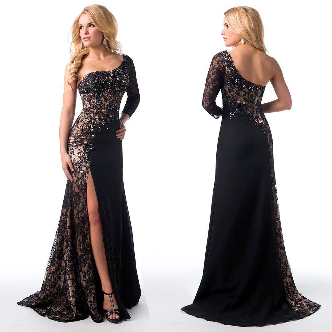 One Sleeve Prom Dresses 2015 - Missy Dress