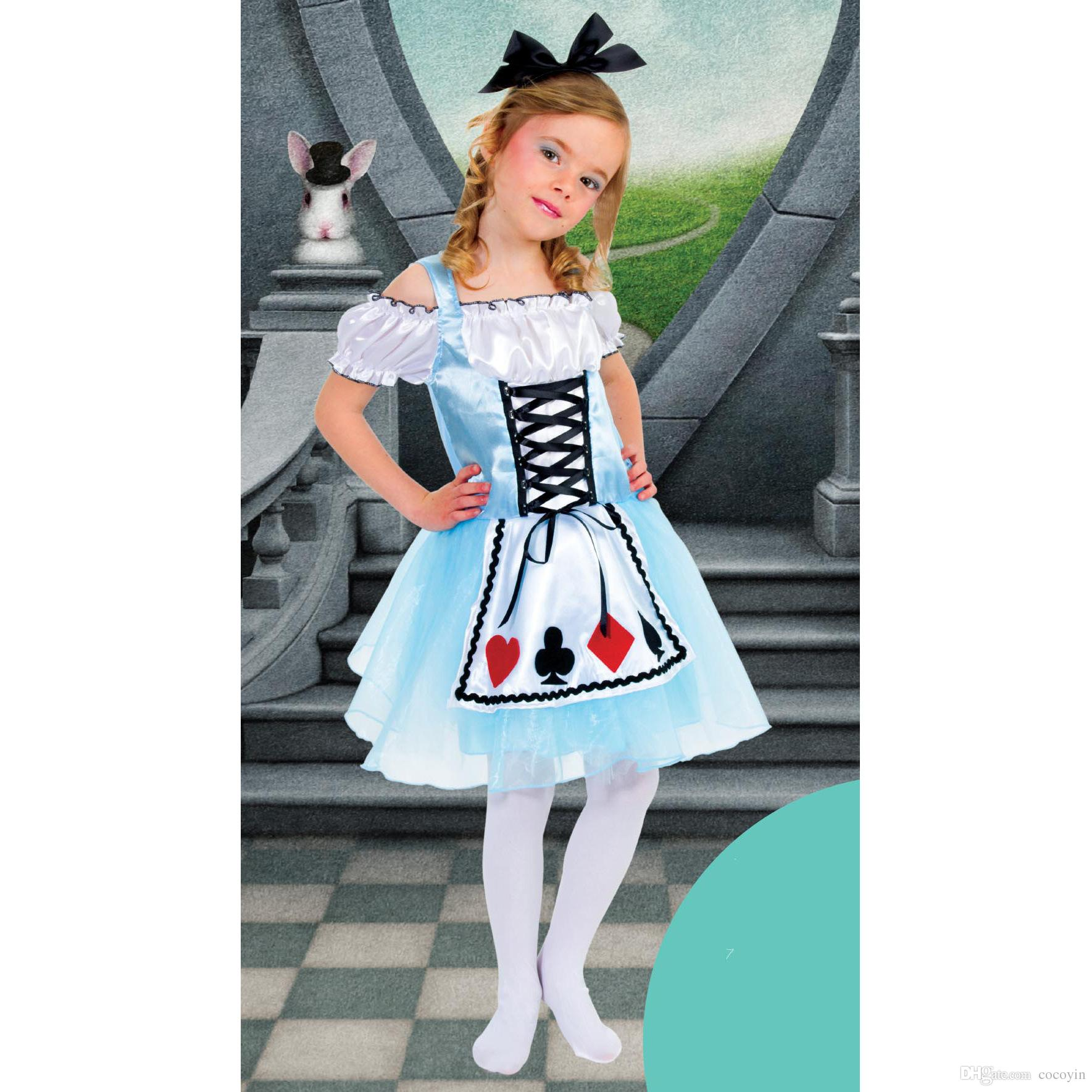 Alice In Wonderland Costume For Kids Party City