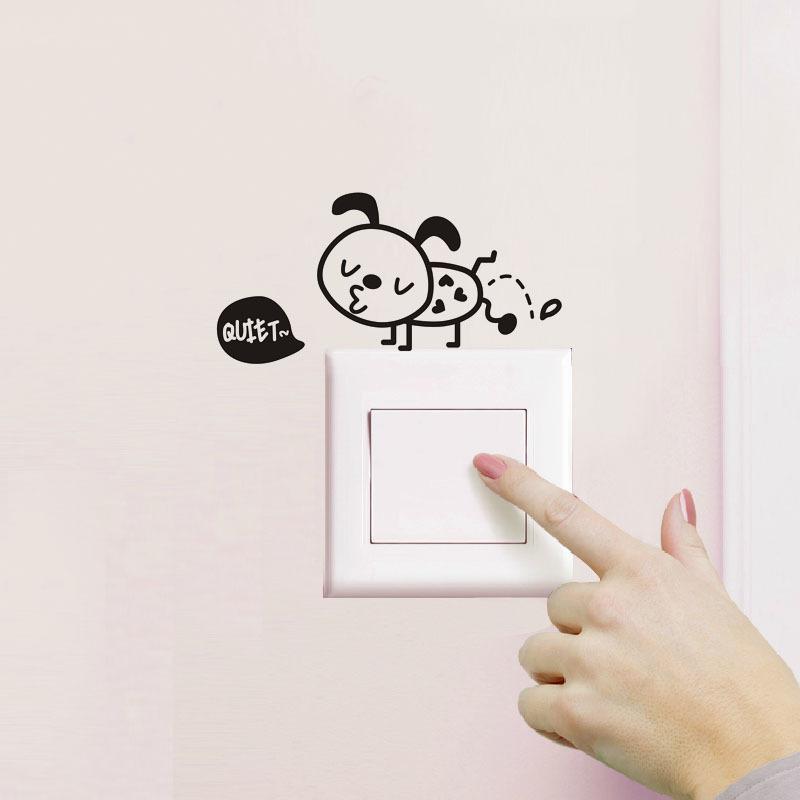 funny ant diy k vinyl pvc bathroom decals wall toilet waterproof, Home decor