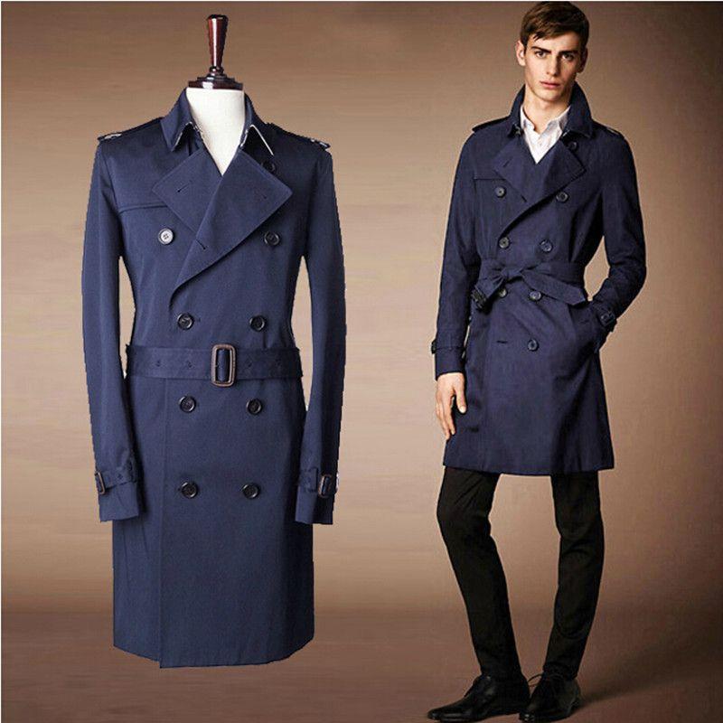 2017 Fall 2015 New Coats &ampAmp Jackets Fashion Men Trench Coat