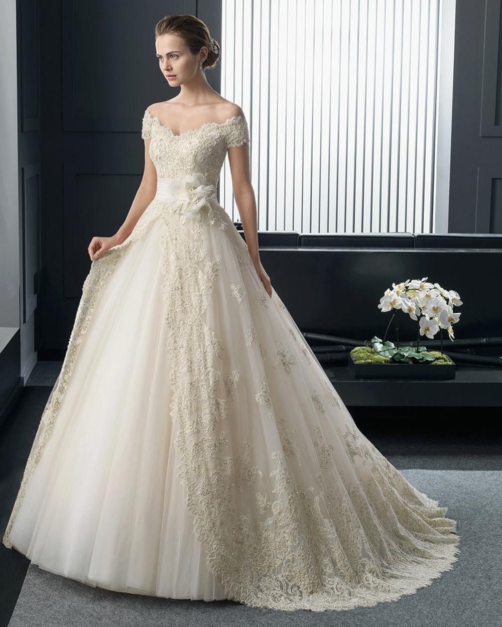 Yellow Summer Wedding Dresses 2015 Cheap