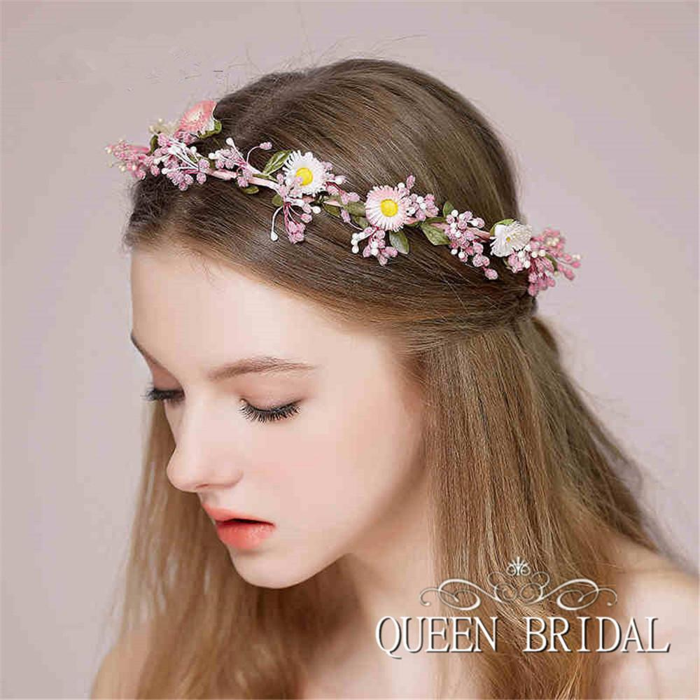 Real Flower Bridal Hair Accessories : Hot wedding hair accessories three piece for designer