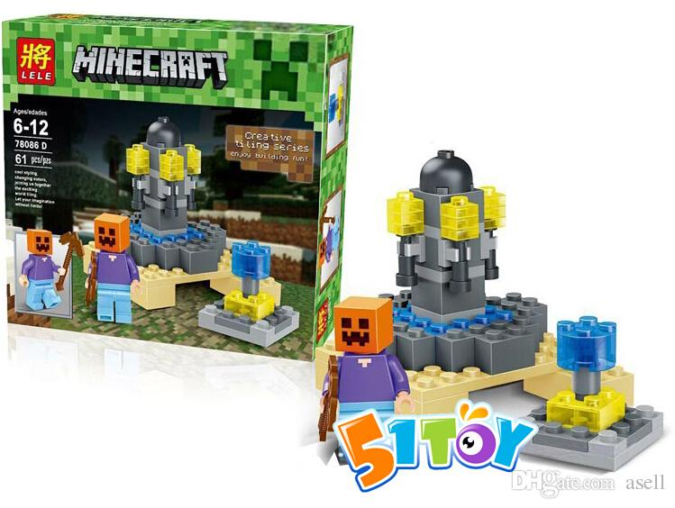 Minecraft Action Toys Toy Figures Minecraft
