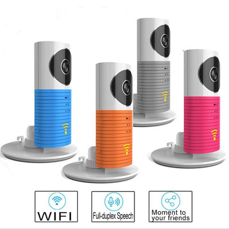 Wireless Wifi Camera Clever Dog 720P Smart Camera DOG-1W with IR ...