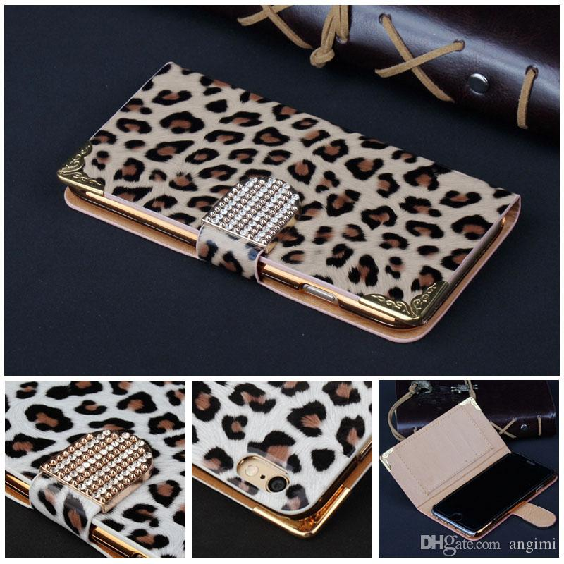 ... Phone Cases Galaxy S5 Leopard Leather Cover S6 Edge Phone Leather Case
