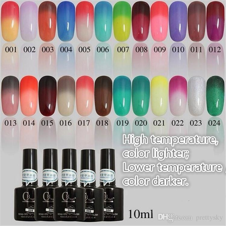 Gel Nail Polish That Changes Color With Temperature Gel Nail ch Temperature Change