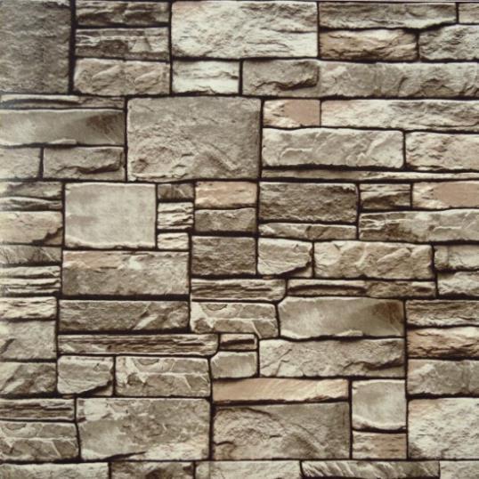 fine decor 3d wallpaper roll modern natural rustic greyred brick stone wall wallpaper hotel - Wallpaper Decor