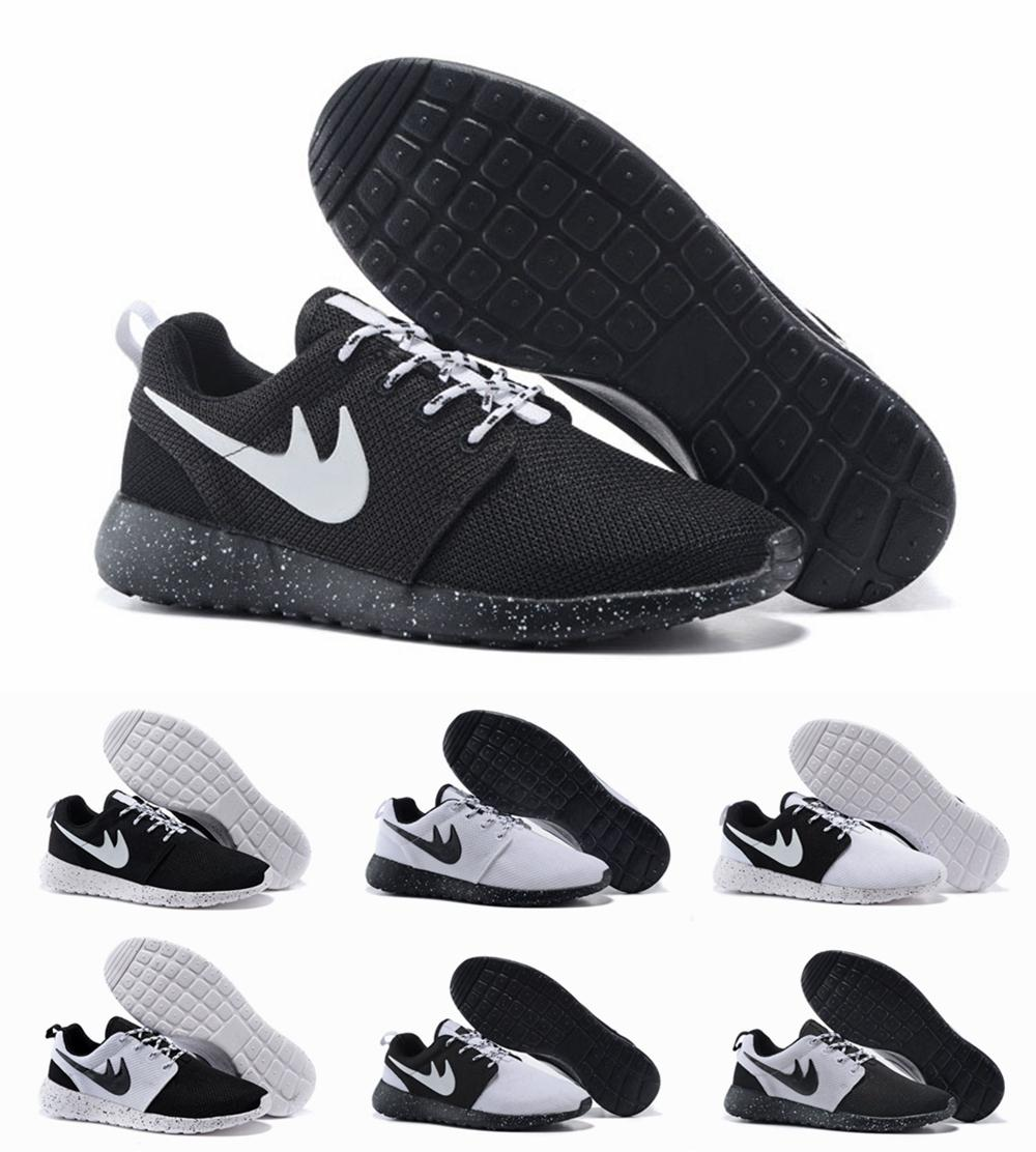 hzjlbt nike roshe run womens shoes oreos all black white hot ‹ Q Nightclub