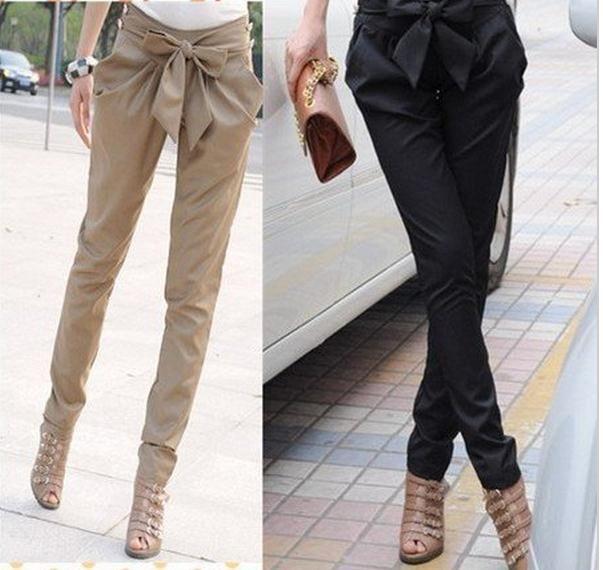 2017 2015 High Waist Harem Pants For Women Fashion Hot Women'S ...