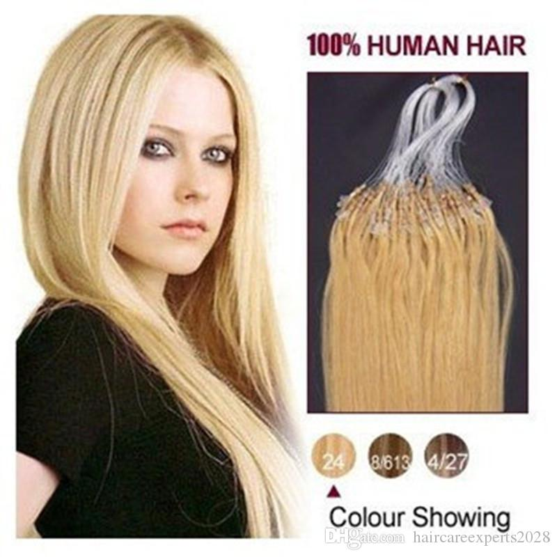 2015 best selling virgin brazilian micro loop hair extensions 10 2015 best selling virgin brazilian micro loop hair extensions 10 gram strand 150 strands pack 24 medium blonde dhl free shpping loop hair extensions 1g pmusecretfo Image collections