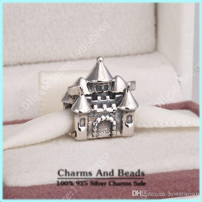 2017 castle crown charm with 14k sold gold fits